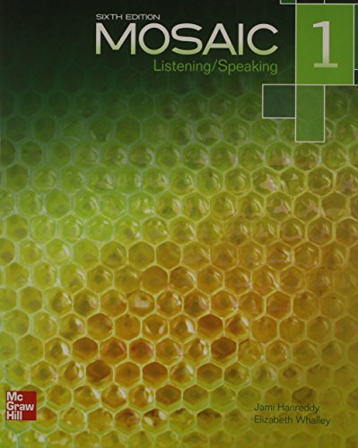 9780077831042: Mosaic Level 1 Listening/Speaking Student Book Plus Registration Code for Connect ESL