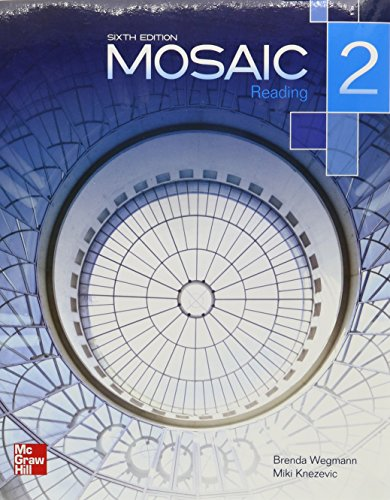 9780077831059: Mosaic Level 2 Reading Student Book plus Registration Code for Connect ESL