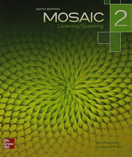 9780077831066: Mosaic Level 2 Listening/Speaking Student Book plus Registration Code for Connect ESL