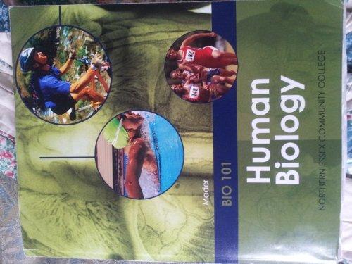 9780077832452: Mader Bio 101 Human Biology Northern Essex Community Collge