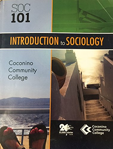 9780077832834: Introduction to Sociology SOC 101 . Custom Edition for Coconino Community College