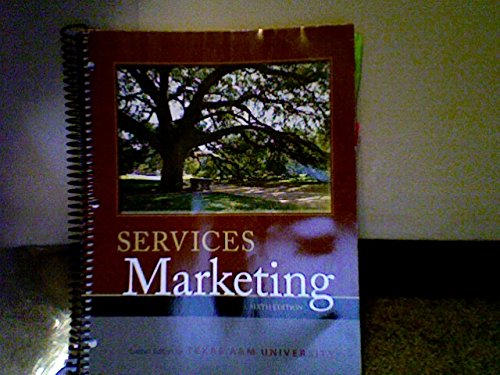 9780077833039: Services Marketing