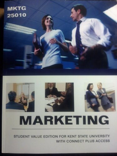 9780077833206: Marketing 25010, Student Value Edition for Kent State University With Connect Plus Access