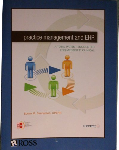 9780077833251: Practice Management and EHR (Ross Medical School)