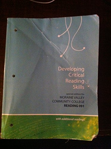 9780077833787: Developing Critical Reading Skills