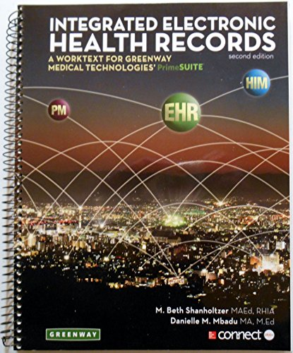 9780077834845: INTEGRATED ELECTRONIC HEALTH R