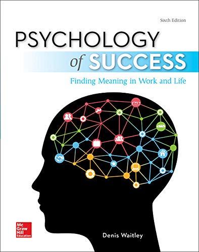 9780077836337: Psychology of Success