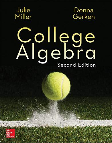 9780077836344: College Algebra (Collegiate Math)