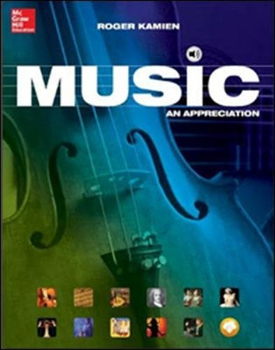 9780077837310: Music: An Appreciation, Brief Edition- Standalone book