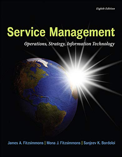9780077841201: MP Service Management with Service Model Software Access Card (The Mcgraw-hill/Irwin Series in Operations and Decision Sciences)