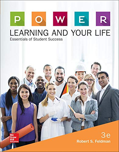 feldmans power learning strategies Name: power learning strategies for success in college and life 7th edition feldman solutions manual if you have any questions, or would like a receive a sample chapter before your purchase, please contact us at info@testbankteamcom.