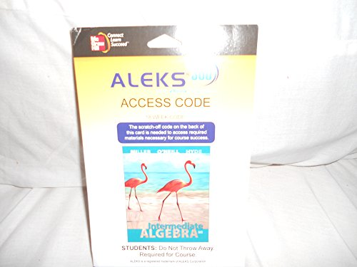 9780077844462: Aleks 360 Access Card (18 Weeks) for Intermediate Algebra