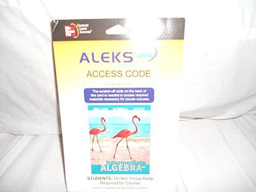 9780077844462: Aleks 360 Access Card (18 Weeks) for Intermediate Algebra