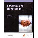 9780077846114: Essentials of Negotiation