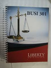 BUSI 301 Buisness Law: Liberty Universtiy: The Micgraw-Hill Companies: