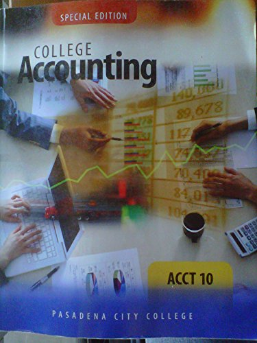 9780077847708: College Accounting: A Contemporary Approach, 2e