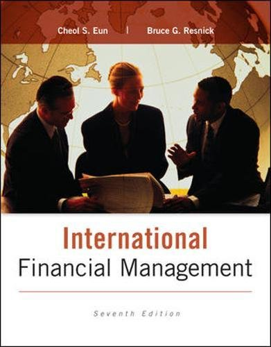 9780077861605: International Financial Management (Irwin Finance)