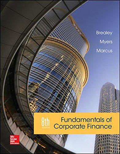 Fundamentals of Corporate Finance: Brealey, Richard A;