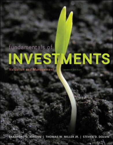 9780077861636: Fundamentals of Investments: Valuation and Management (McGraw-Hill/Irwin Series in Finance, Insurance, and Real Est)