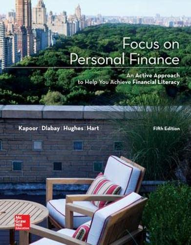 9780077861742: Focus on Personal Finance (Mcgraw-Hill/Irwin Series I Finance, Insurance, and Real Estate) (Standalone Book)
