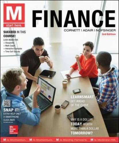 9780077861773: M: Finance
