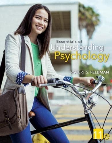Essentials of Understanding Psychology: Feldman, Robert S.