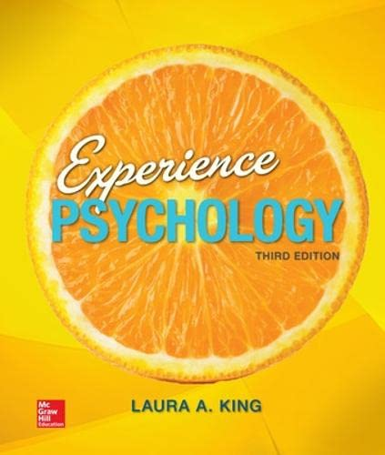 9780077861964: Loose Leaf Experience Psychology - Standalone Book (B&B Psychology)