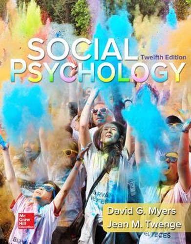 9780077861971: Loose-leaf for Social Psychology (B&B Psychology)