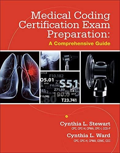 9780077862053: Medical Coding Certification Exam Preparation: A Comprehensive Guide
