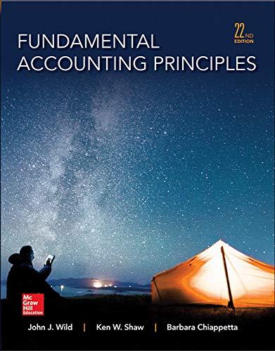9780077862275: Fundamental Accounting Principles