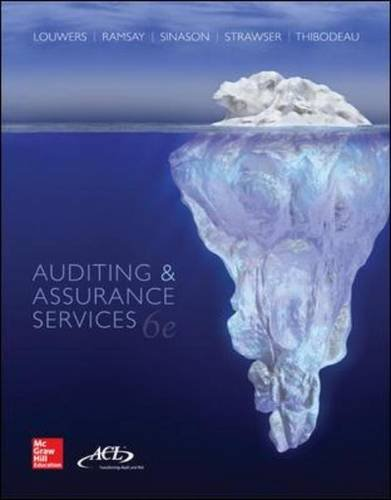 9780077862343: Auditing & Assurance Services