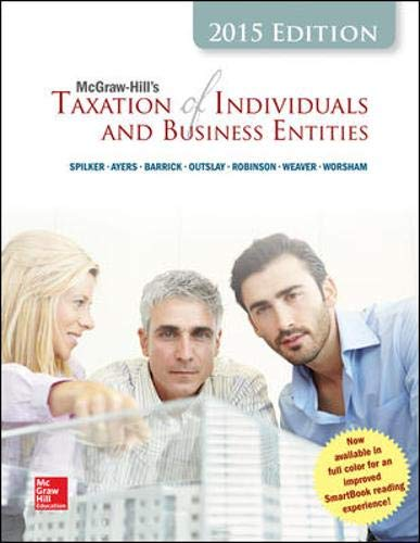 9780077862367: McGraw-Hill's Taxation of Individuals and Business Entities, 2015 Edition