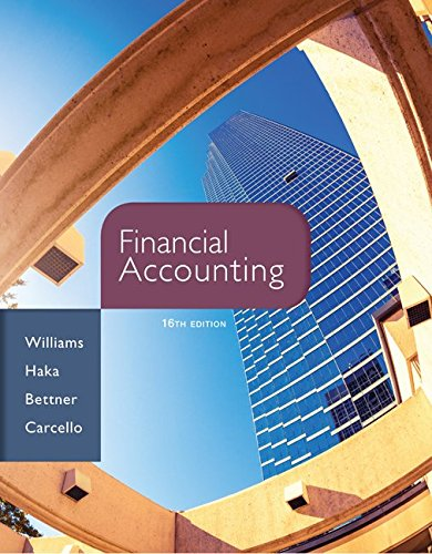 9780077862381: Financial Accounting, 16th Edition