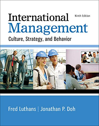9780077862442: International Management: Culture, Strategy, and Behavior