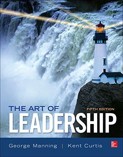 9780077862459: The Art of Leadership