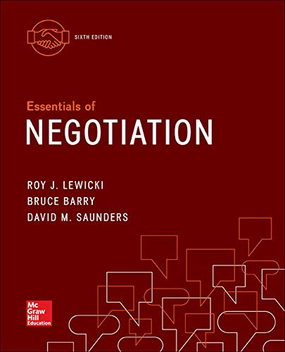 9780077862466: Essentials of Negotiation (Irwin Management)