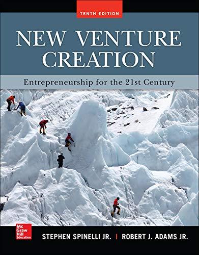 New Venture Creation: Entrepreneurship for the 21st: Stephen Spinelli, Rob