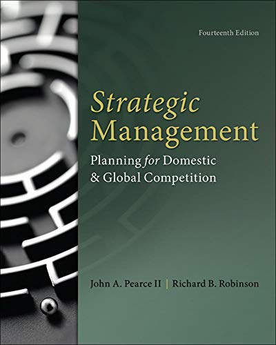 9780077862510: Strategic Management (Irwin Management)