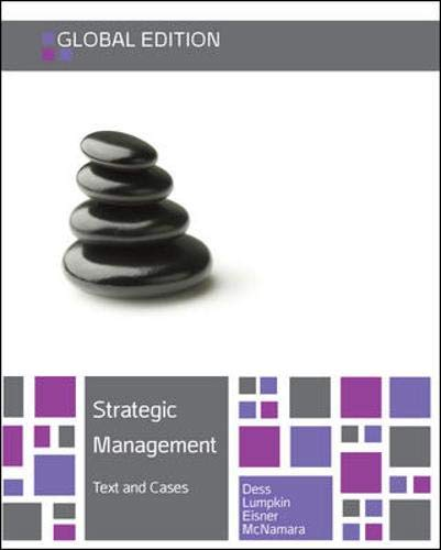 Strategic Management Text and Cases: Alan Eisner