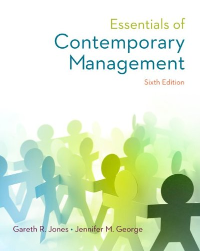 9780077862534: Essentials of Contemporary Management