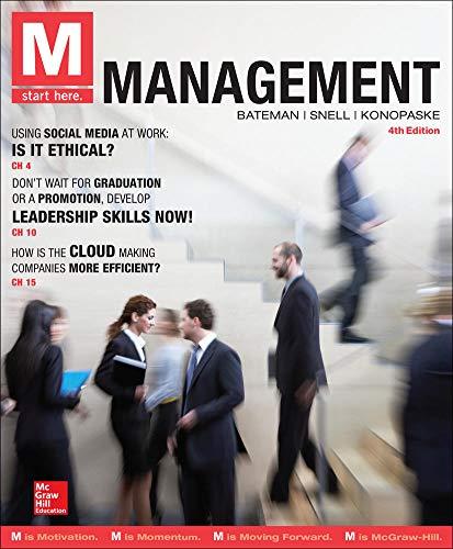 M: Management: Bateman, Thomas S;