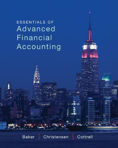 9780077863814: Loose Leaf Essentials of Advanced Financial Accounting with Connect Access Card