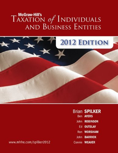 9780077867232: Loose Leaf Taxation of Individuals & Business Entities 2012e with Connect Plus
