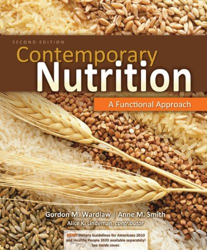 9780077868161: Combo: Contemporary Nutrition: A Functional Approach w/Dietary Guidelines Update Resource