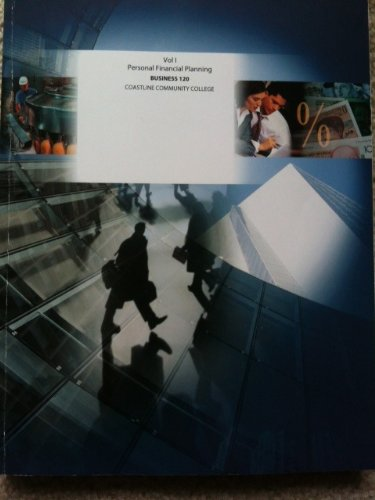 9780077869649: Personal Financial Planning Volume 1 and 2 (Custom Package) ? 2011 (2011, 2011)