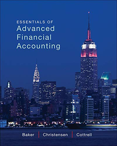 9780077869755: Essentials of Advanced Financial Accounting with Connect Access Card