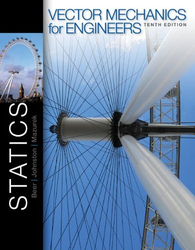 Vector Mechanics for Engineers: Statics with Connect Access Card: Beer, Ferdinand, Johnston, Jr., E...