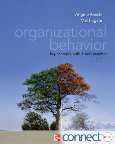 9780077890445: Organizational Behavior with Connect Access Card