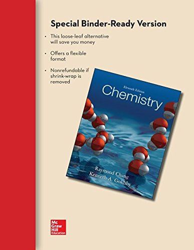 9780077892319: Loose Leaf Version of Chemistry with Connect Access Card