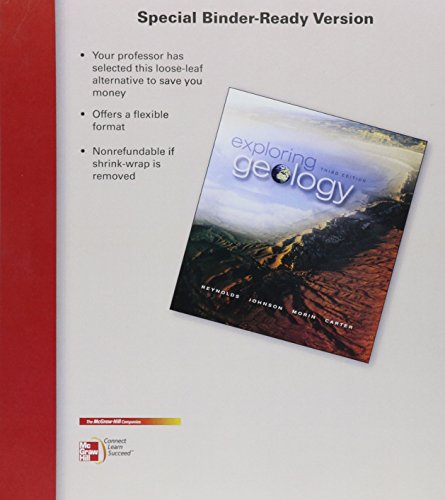 9780077892692: Loose Leaf version for Exploring Geology with Connect Access Card